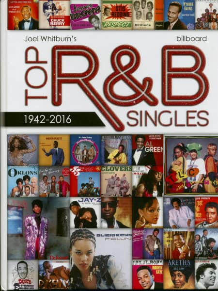 Top R&B Singles 1942-2016 - Hardcover