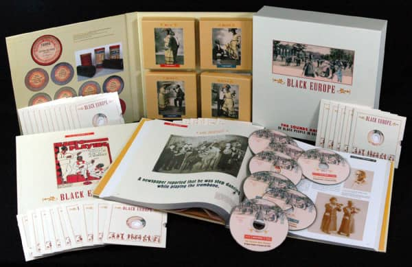 Black Europe - The Sounds And Images Of Black People In Europe- Pre 1927 (44-CD Deluxe Box Set)