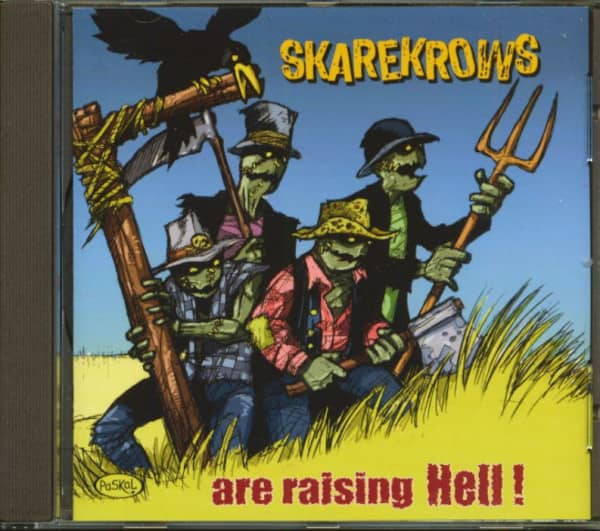Skarekrows Are Raising Hell (CD)