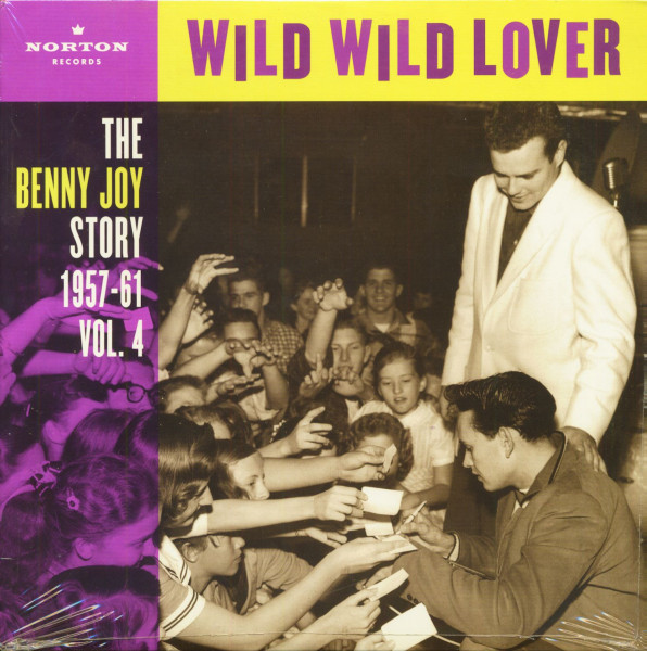 Wild Wild Lover - The Benny Joy Story Vol.4 (LP)