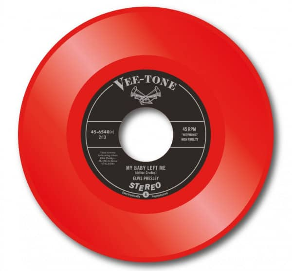 My Baby Left Me - Blue Moon Of Kentucky (7inch, 45rpm, Red Vinyl, Ltd.)