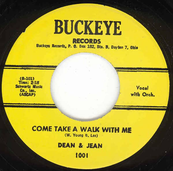 Come Take A Walk With Me b-w Oh Yeah 7inch, 45rpm