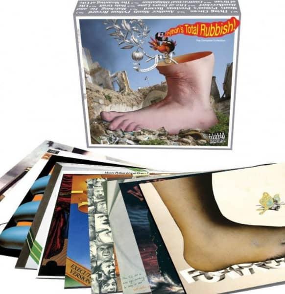 Monty Python's Total Rubbish (9-LP+7inch Box Set) Limited Edition