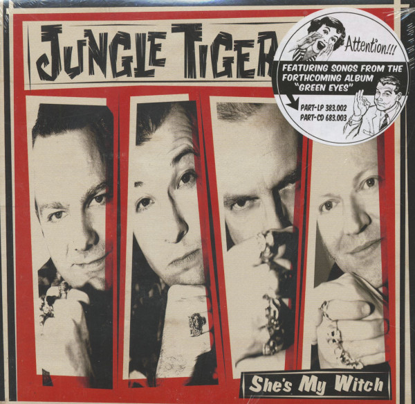 She's My Witch (7inch, 45rpm, EP, PS)