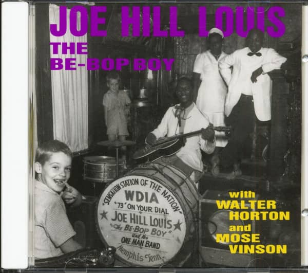 The Be-Bop Boy with Walter Horton and Mose Vinson (CD)