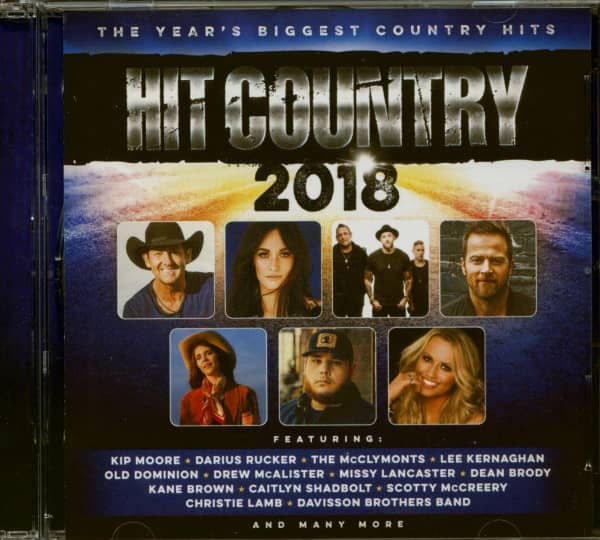 Hit Country 2018 (2-CD)