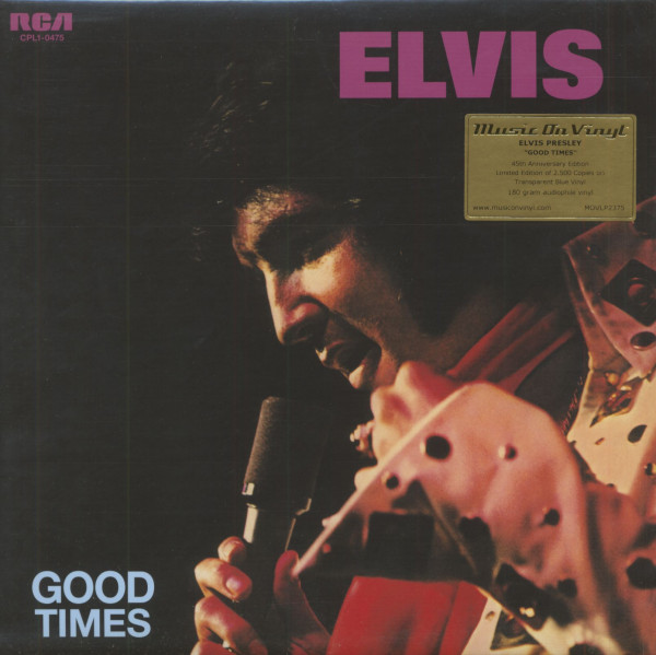 Good Times (LP, 180g, Colored Vinyl, Ltd.)