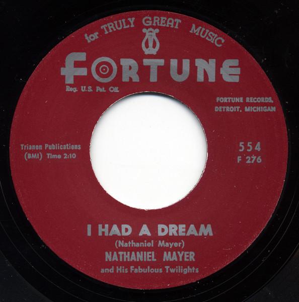 I'm Not Gonna Cry b-w I Had A Dream 7inch, 45rpm