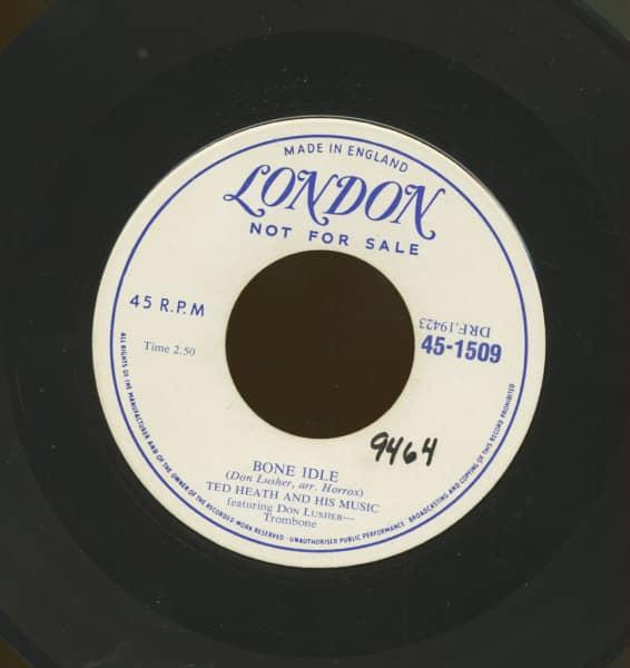Bone Idle b-w The Touch (7inch, 45rpm)