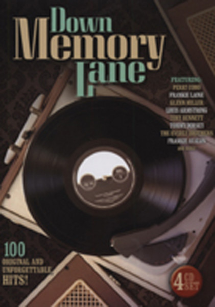 Down Memory Lane (4-CD) Booksize Digipac
