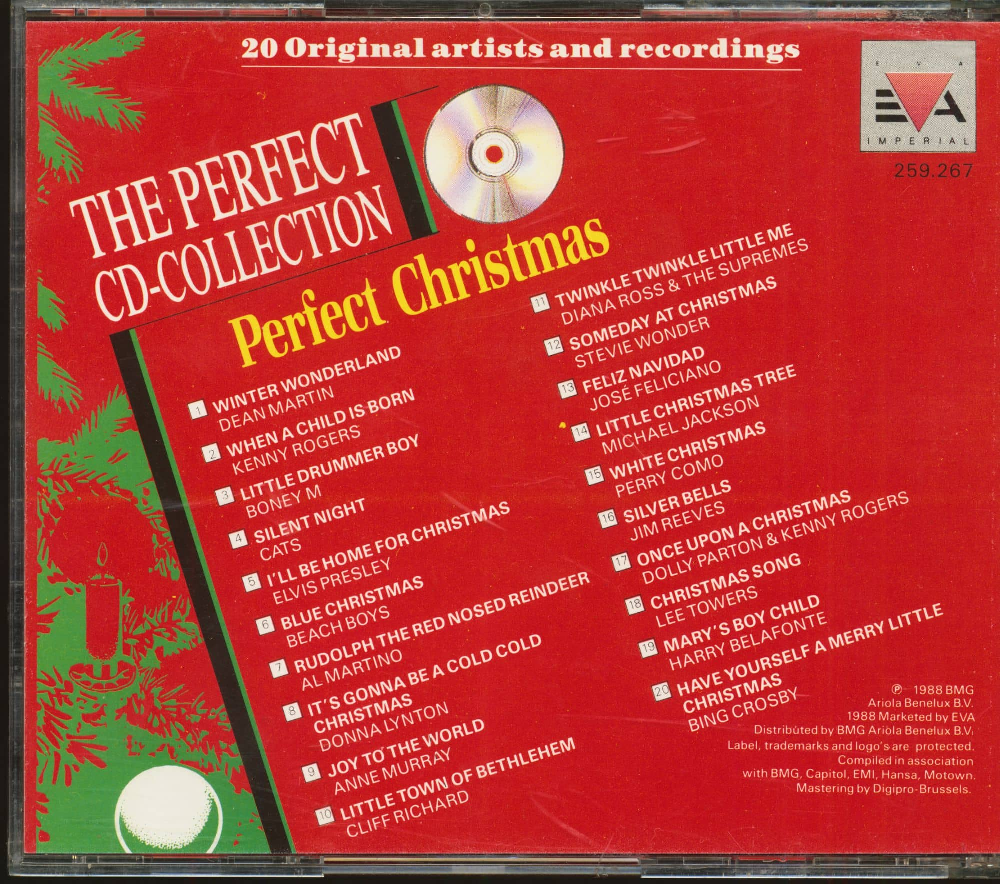 I Ll Be Home For Christmas 1988.Various The Perfect Cd Collection Perfect Christmas Cd