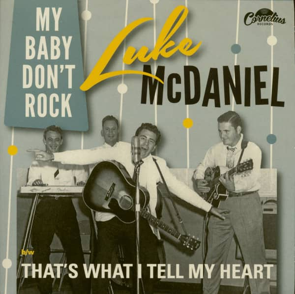 My Baby Don't Rock - That's What I Tell My Heart (7inch, 45rpm, PS)