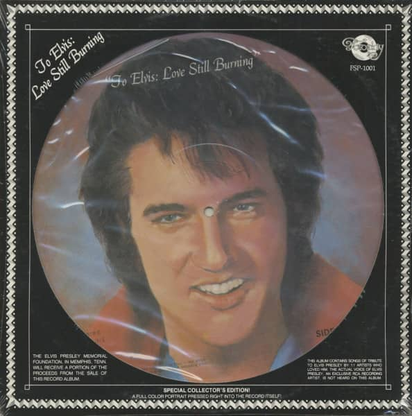 To Elvis: Love Still Burning (LP Picture Disc)