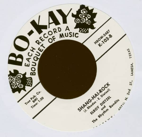 Shang-Hai-Rock - Rock-N-Bones (7inch, 45rpm)