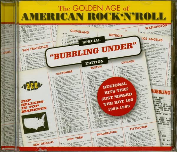 Golden Age Of US Rock'n'Roll - Special 'Bubbling Under' Edition (CD)
