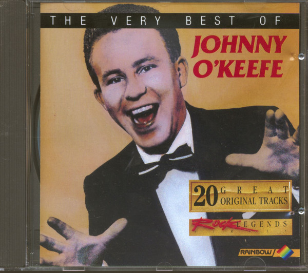 The Very Best Of Johnny O'Keefe - 20 Great Original Tracks (CD)