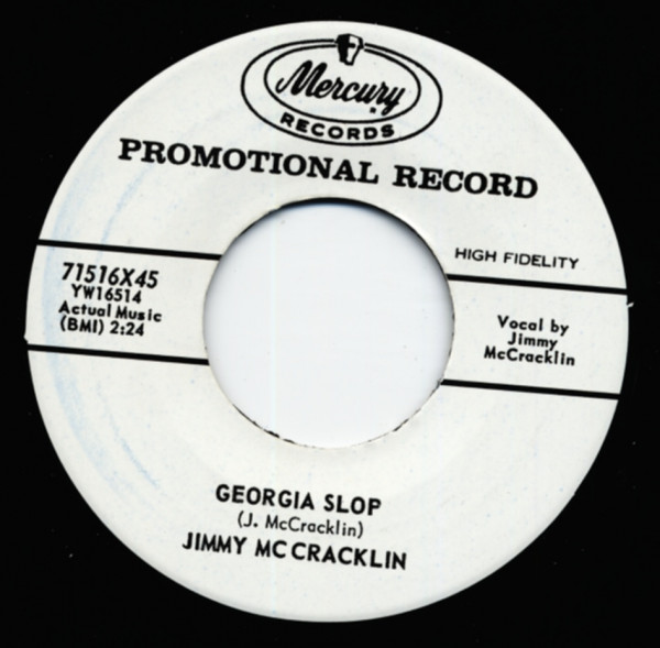 Georgia Slop b-w Let's Do It (The Chicken SCratch) 7inch, 45rpm