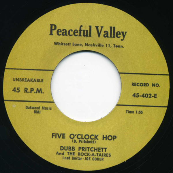 Five O'Clock Hop - Be Gone When I Come..7inch, 45rpm