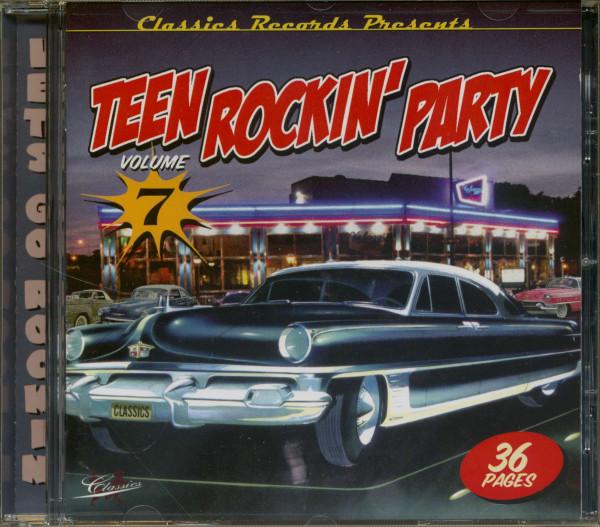 Teen Rockin' Party Vol.7 (CD)