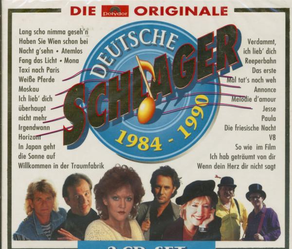 Deutsche Schlager 1984-1990 (3-CD)
