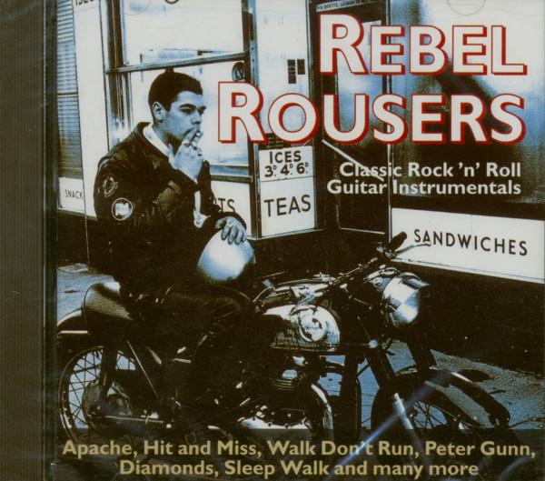 Classic Rock 'n' Roll Guitar Instrumentals (CD)