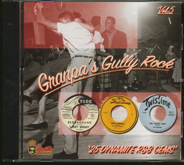 Granpa's Gully Rock - 25 Dynamite R'n'B Gems Vol.5 (CD)