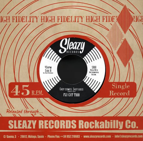 Not Sure At All b-w Easy Comes, Easy Goes 7inch, 45rpm