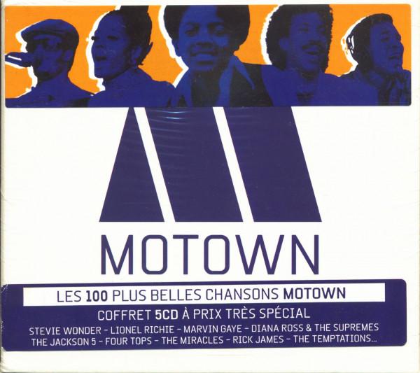 Les 100 Plus Belles Chansons Motown (5-CD)