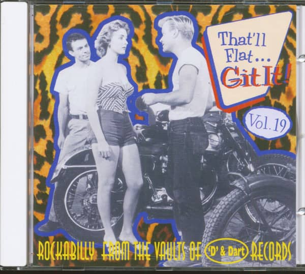 Vol.19 - Rockabilly From The Vaults Of D & Dart Records (CD)
