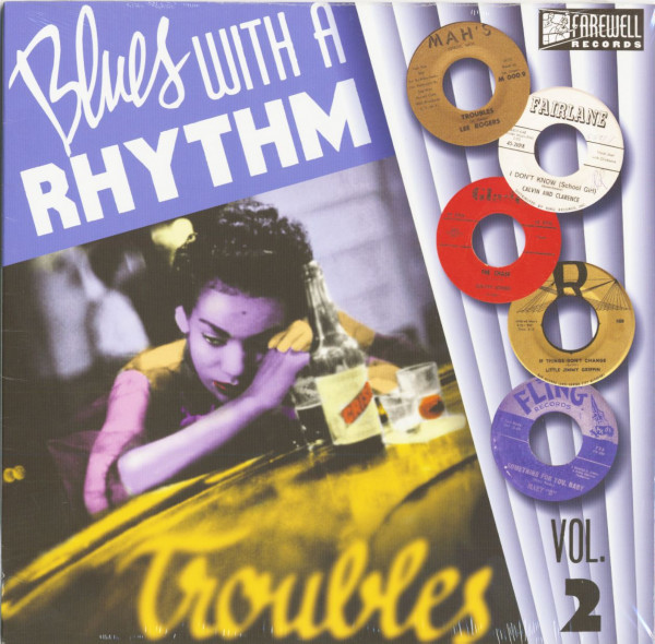Blues With A Rhythm, Vol.2 (LP, 10inch)