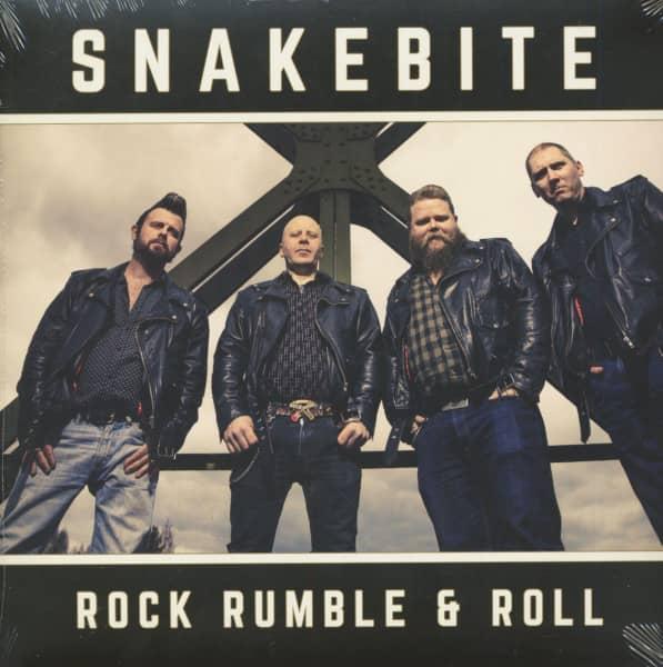 Rock Rumble & Roll (LP, White Vinyl, Ltd.)