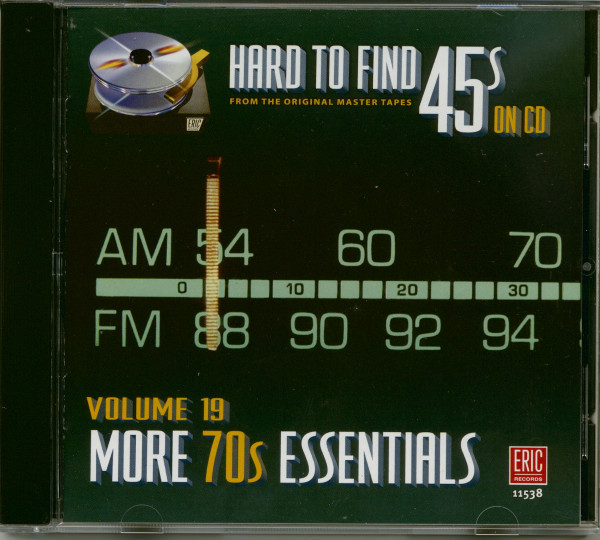 Hard To Find 45s On Cd 19 - More 70's (CD)