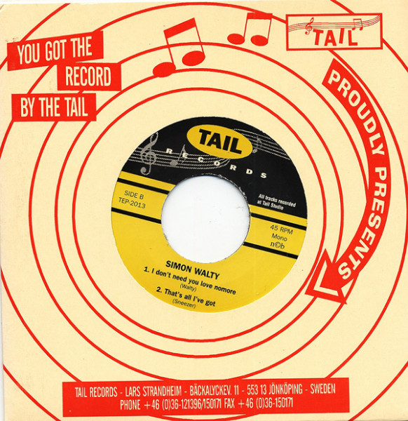 Cat On A Hot Tin Roof 7inch, 45rpm, EP