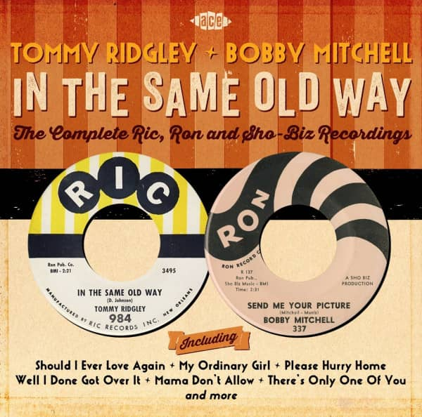 In The Same Old Way: Complete Ric, Ronn And Sho-Bizz Recordings