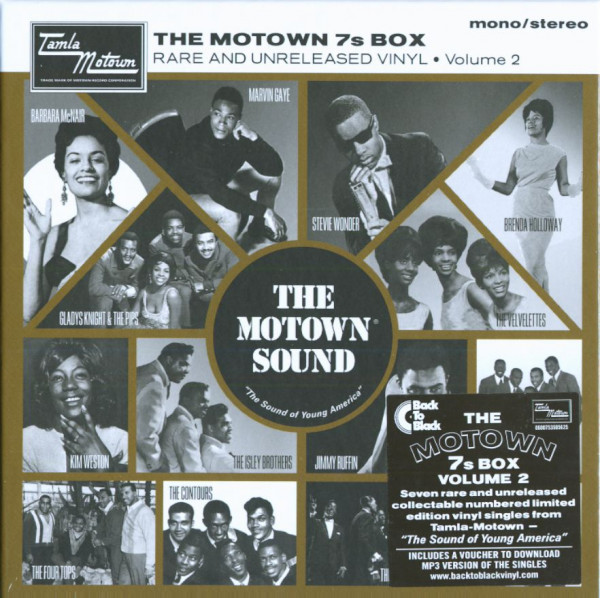 The Motown 7s Box, Vol.2 (7x45rpm Box Set, 7inch, SC)