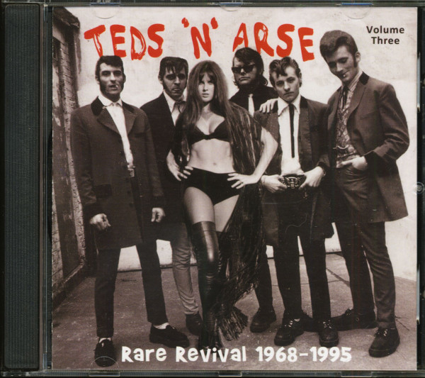Teds'n'Arse - Rare Revival 1968-1995 Vol.3 (CD)