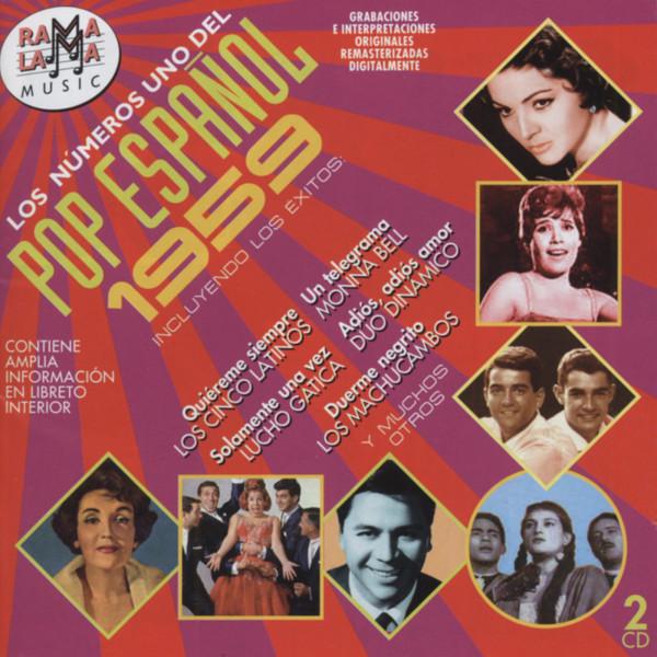 Los Números Uno Del Pop Espanol - 1959 (2-CD)