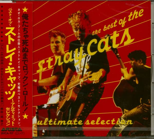 The Best Of The Stray Cats - Ultimate Selection (CD, Japan)