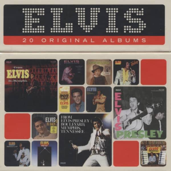 20 Original Albums (20-CD Cap Box)