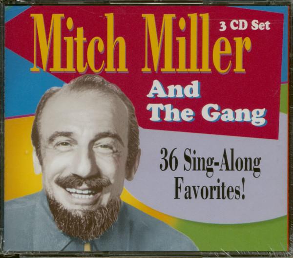 36 Sing Along Favorites (3-CD)