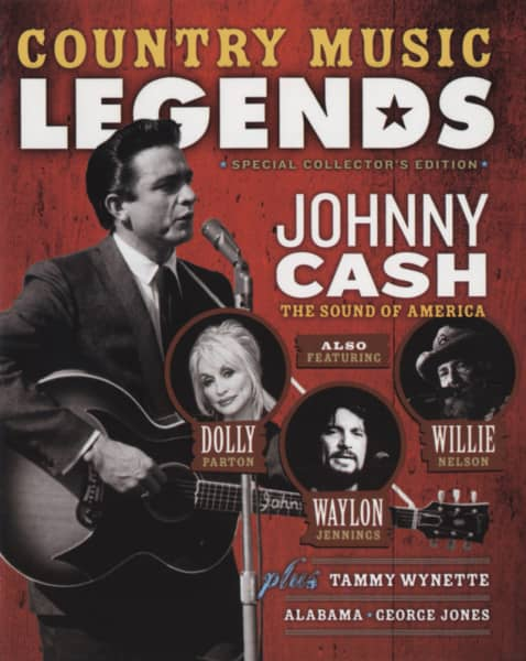 Country Music Legends - Mini Magazine&CD