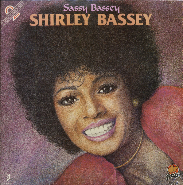 Sassy Bassey (LP, Cut-Out)