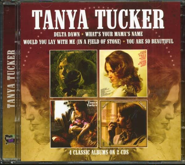 Delta Dawn - 4 Classic Albums (2-CD)