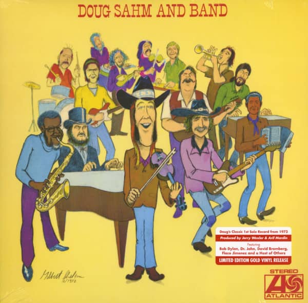 Doug Sahm And Band (Vinyl LP)