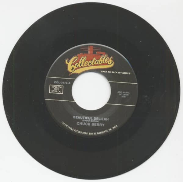 Beautiful Delilah - You Can't Catch Me (7inch, 45rpm)