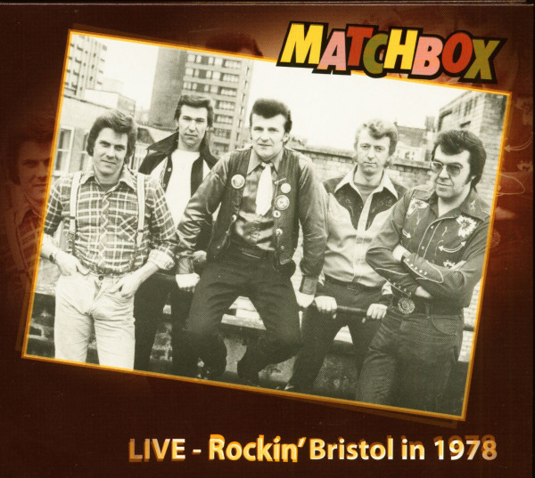 Live - Rockin' Bristol in 1978 (CD)