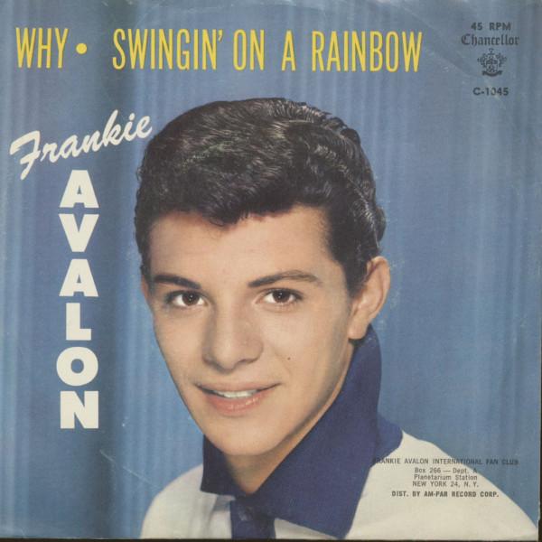 Why - Swingin' On A Rainbow (7inch, 45rpm, PS)