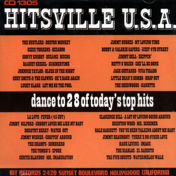 Various Cd Hitsville Usa Bear Family Records