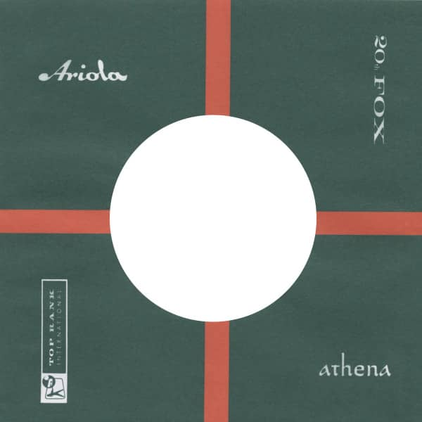 (10) Ariola - 45rpm record sleeve - 7inch Single Cover