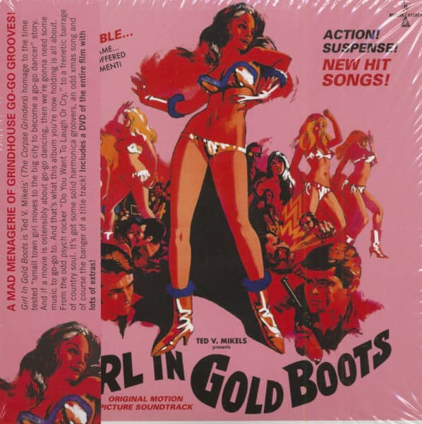 Girl In Gold Boots - Original Motion Picture Soundtrack (CD)